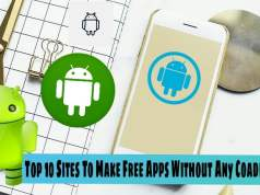 Top 10 sites to make And Build Free App without any coading