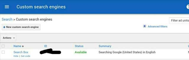 how to connect google custom search to adsense