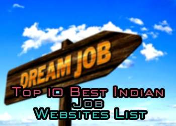 Top 10 Best Indian Job Websites List