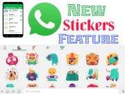 WhatsApp Stickers Feature को इस प्रकार करे Download और इस्तेमाल!