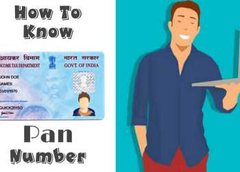 Know Your Pan Card Number