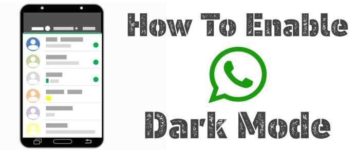 WhatsApp Dark Mode को इनेबल कैसे करें? Android और IOS फोंस में