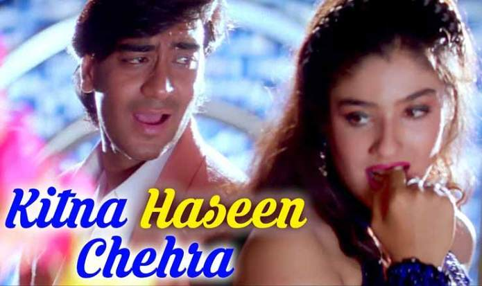 Kitna Haseen Chehra Lyrics in Hindi