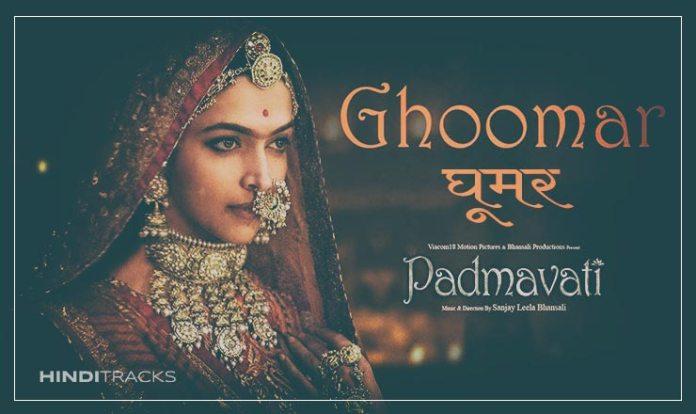 Ghoomar Hindi Lyrics