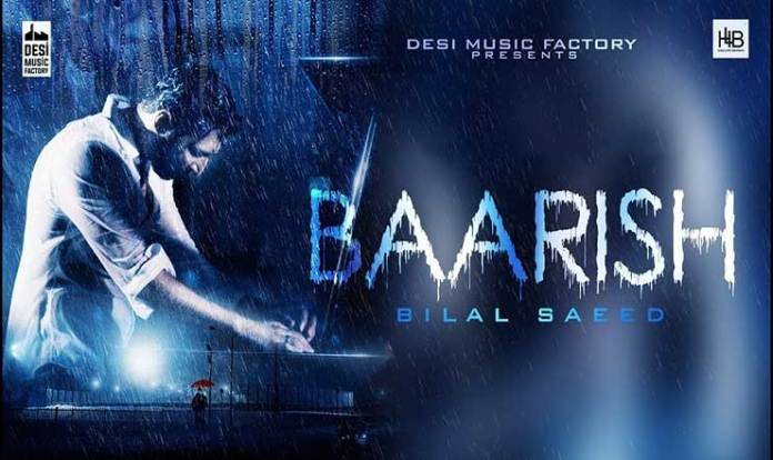 Baarish Lyrics in Hindi Bilal Saeed