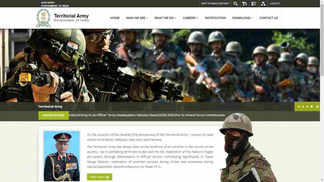TA Army Rally Bharti 2021