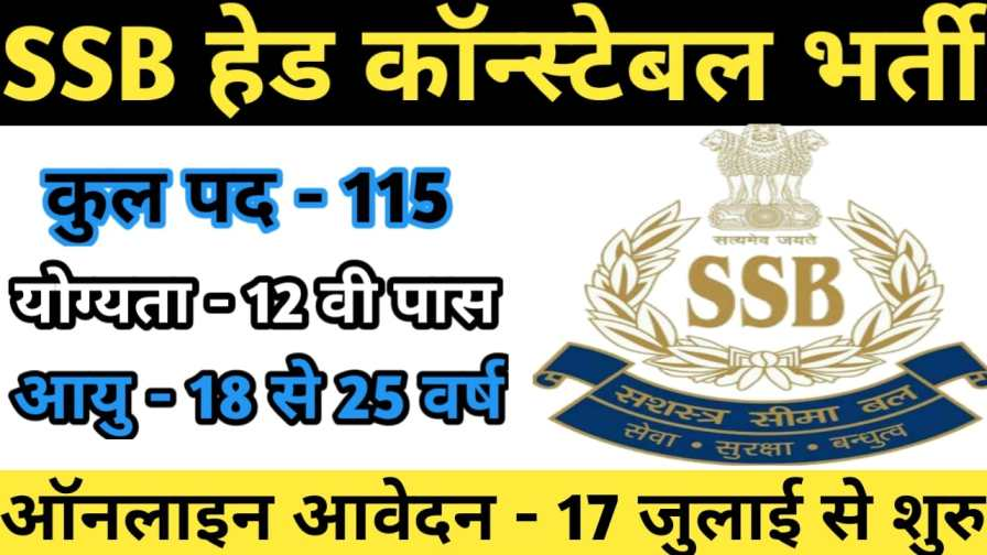 SSB-HC-Ministerial-Recruitment-2021