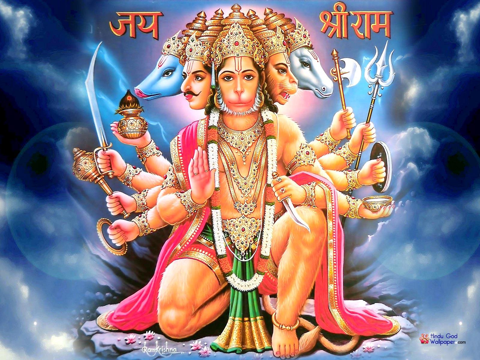 Panchamukhi Hanuman.Wallpaper.Image,jpg