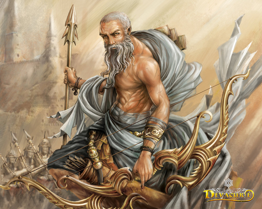 Image result for dronacharya dropping weapons