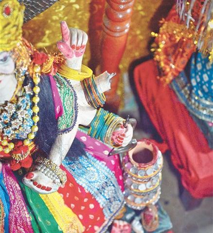 Pakistani Hindu Temple Desecrated