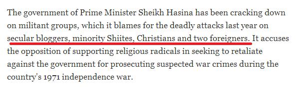 Western media Hinduphobia Bangladesh
