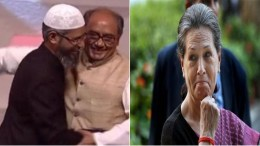 Zakir Naik Sonia Congress