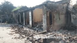 Muslim Mob Loots and Burns
