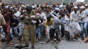 Muslim Undertrial Attacks Police Muslim mob