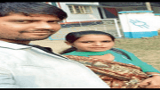 Eklakh Ahmed with his now dead wife