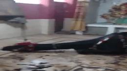 Temple in Karachi desecrated