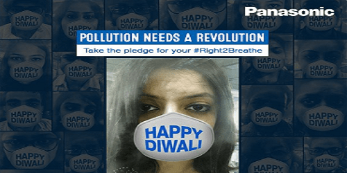 Panasonic Faces Backlash for Anti-Pollution Face Mask Campaign on Diwali