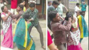 BJP Women Workers Thrashed