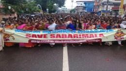 Sabarimala-protest-kerala #SaveSabarimala Sabarimala