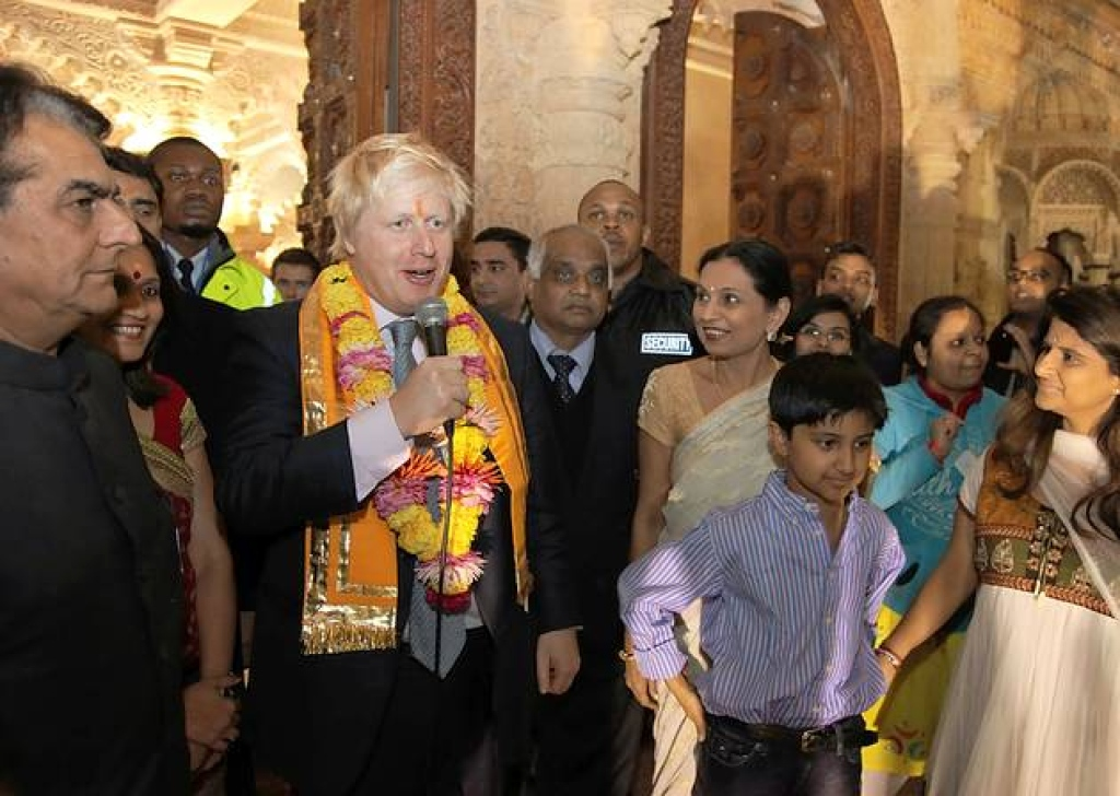Boris Johnson wishes properly on Diwali; When will our 'Secular'  Politicians?