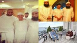 Amir Khan and his friends