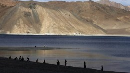 south of Pangong
