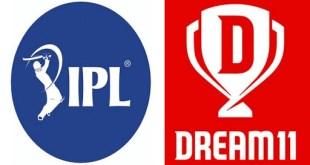 Dream 11 को मिली IPL 2020 की स्पॉन्सरशिप, 222 करोड में खरीदे राइट्स.