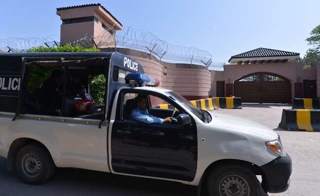 Pervez Musharraf detained at his farmhouse at Chak Shahzad on the outskirts of Islamabad