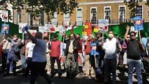Indian diaspora groups in UK stage protest against 'expansionist' China