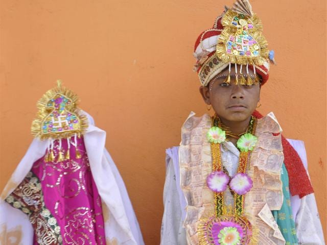 rajasthan governments creative way to tackle child marriages is by adding birthdays to wedding card