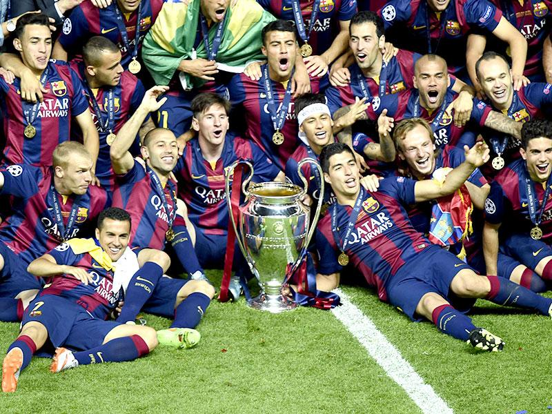 Image result for fc barcelona trophies wallpaper