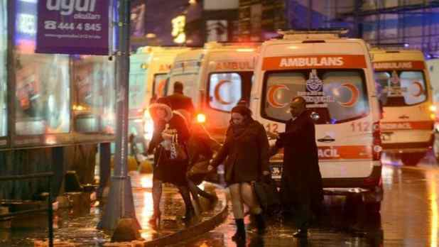 Image result for images of istanbul nightclub shooting
