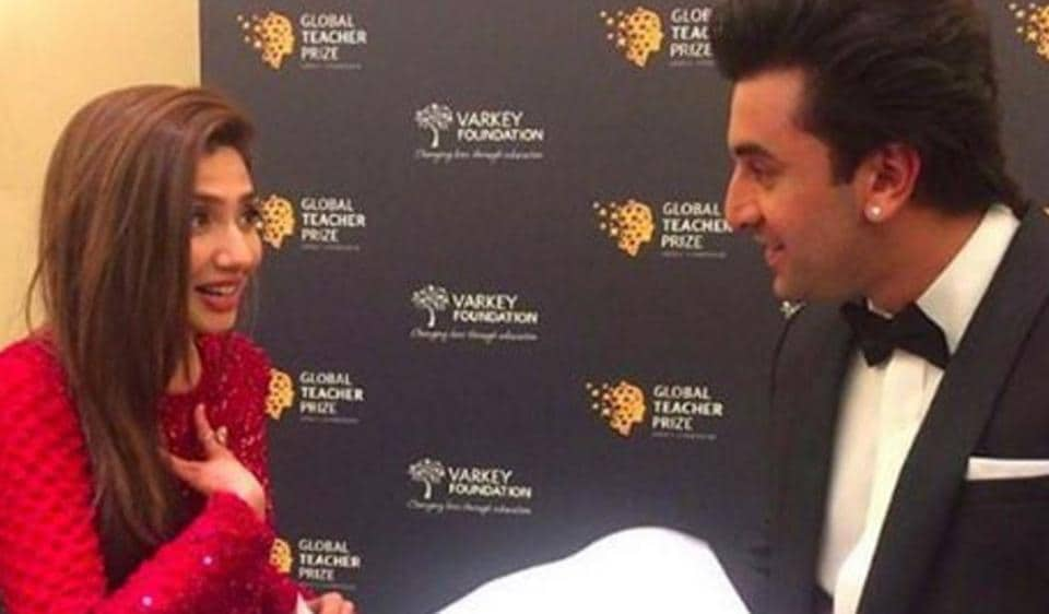 Image result for ranbir kapoor mahira photo