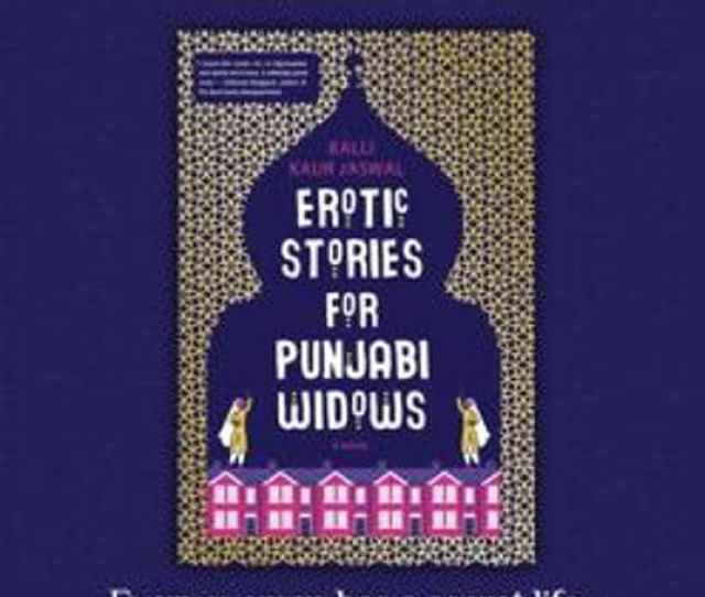 Book Cover Of The Novel Erotic Stories For Punjabi Widows