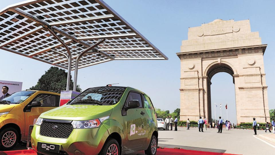 Image result for Electric vehicle India