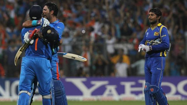 Image result for 2011 cricket world cup final