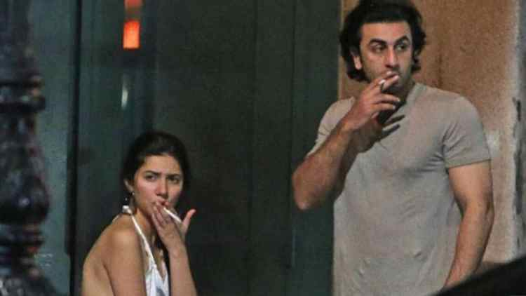 Image result for Mahira Khan controversy smoking