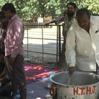 India - At Jaisalmer shelter, no food for Muslims forced out of village