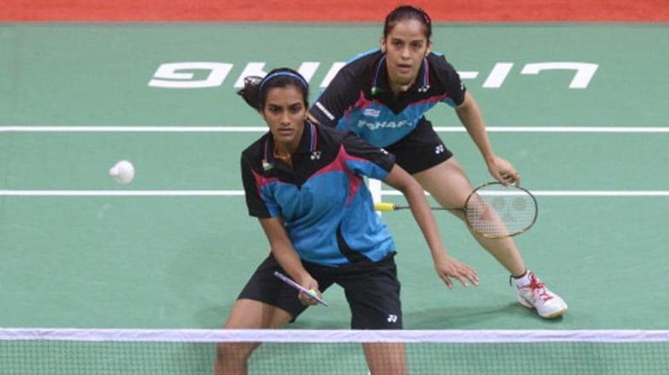 PV Sindhu and Saina Nehwal are in the semi-finals of National Badminton Championship.