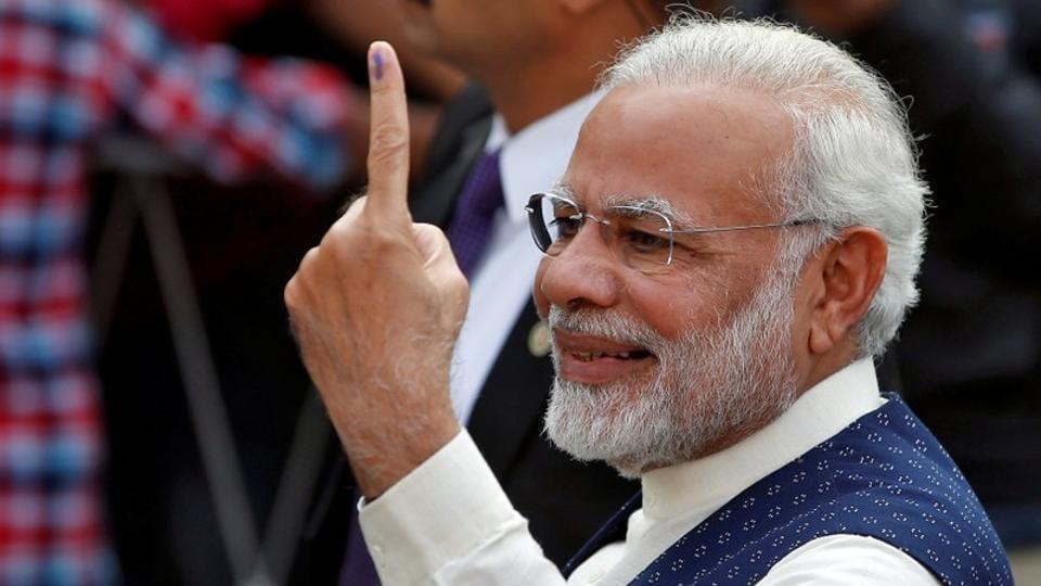 Gujarat Election Result PM Modi Comes To BJPs Rescue