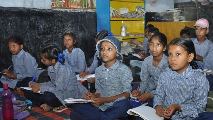 The Bihar government has relaxed the criterion for availability of land for setting up a high school.