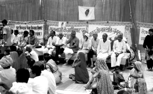 The Beawar Dharna, 1996, the first big prolonged demand for the RTI.