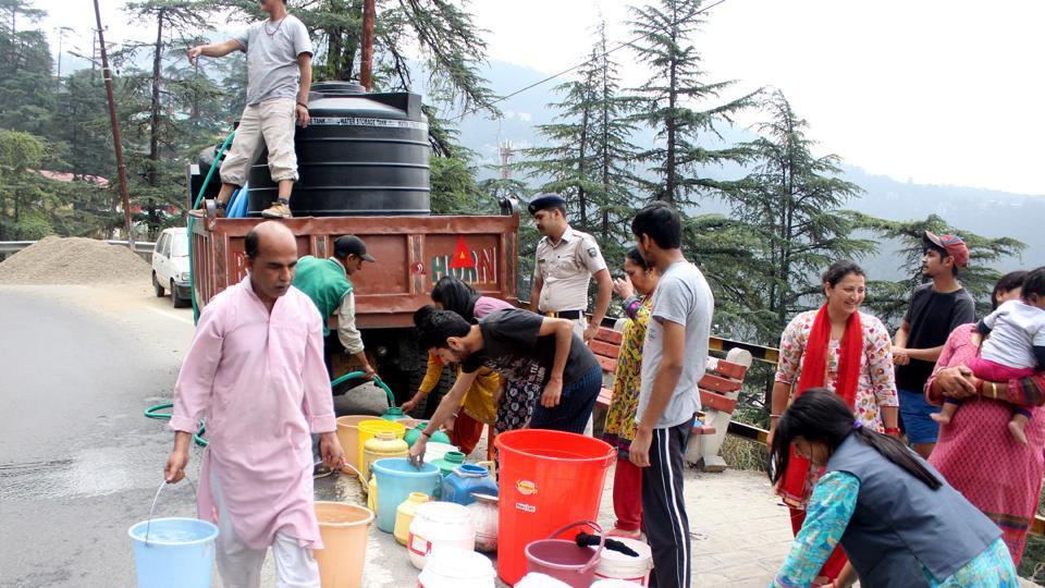 water crisis in himachal pradesh