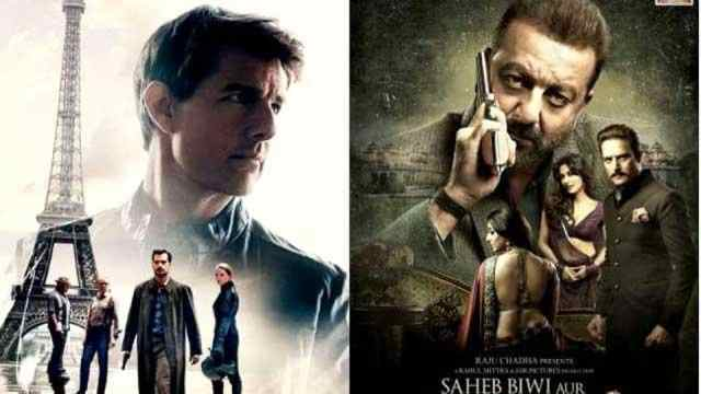 Image result for Mission Impossible Fallout beats Saheb Biwi Aur Gangster 3 hands down at box office