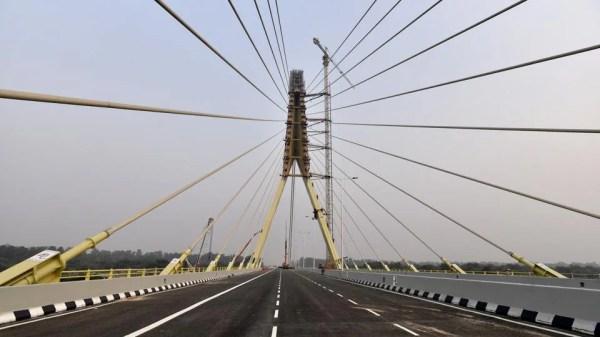 Photos: 14-years in the making, Delhi's Signature Bridge ...