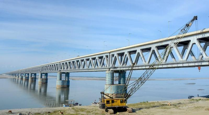 India's longest Railroad Bridge