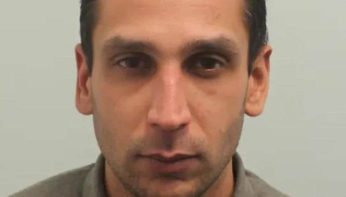 Gurjeet Singh Lall, 36, (in picture) stabbed 69-year-old ex-rugby player and builder Allan Isichei several times after a brief verbal row over Lall's spitting on the street on August 24 last year