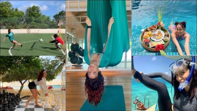 Elli AvrRam's first Maldives trip is sure to kick in your travel bug, amp up fitness goals