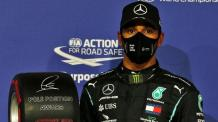 Formula 1 world champion Lewis Hamilton tests positive for coronavirus