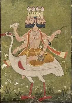 Lord Brahma's Vehicle